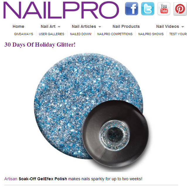 30 Days of Holiday Glitter