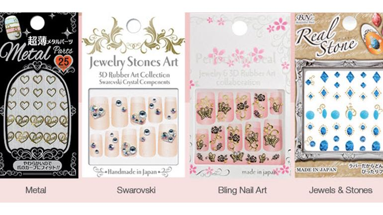 The Nail Superstore Has a Whole New Line of Nail Art Stickers Beautifully Made in Japan!
