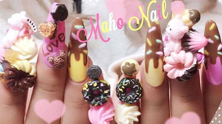 4 Absolutely Wowing Japanese Nail Art Designs