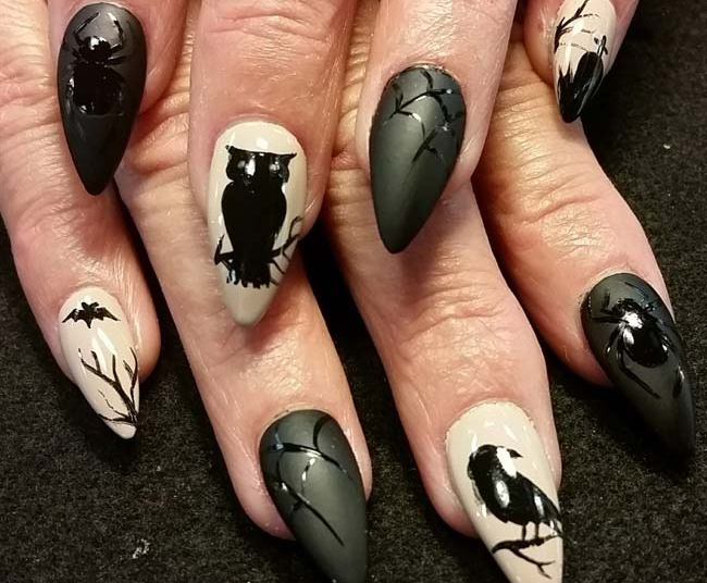 Try These 3 New Products For Amazing Halloween Nail Art Designs