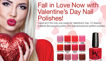 New Valentine's Day Nail Polish Collection