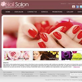 Create your own professional salon website