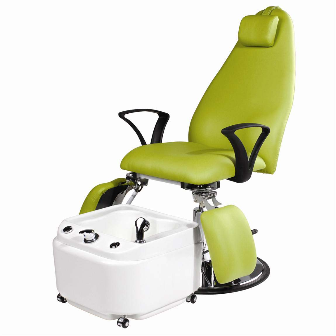 Eurostyle portable pedicure spa with hydraulic beauty for Portable beauty chair