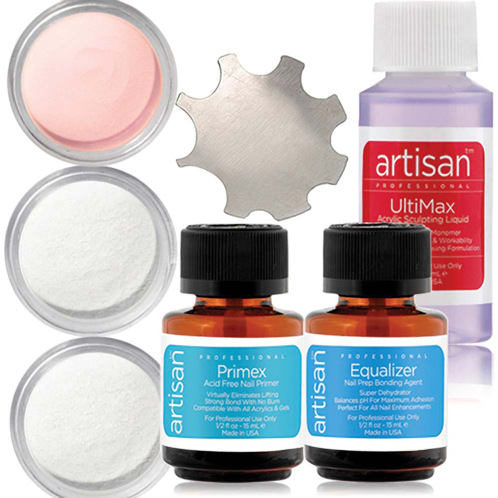 Artisan Professional Acrylic Nail Kit | Easy To Use - Superior Adhesion