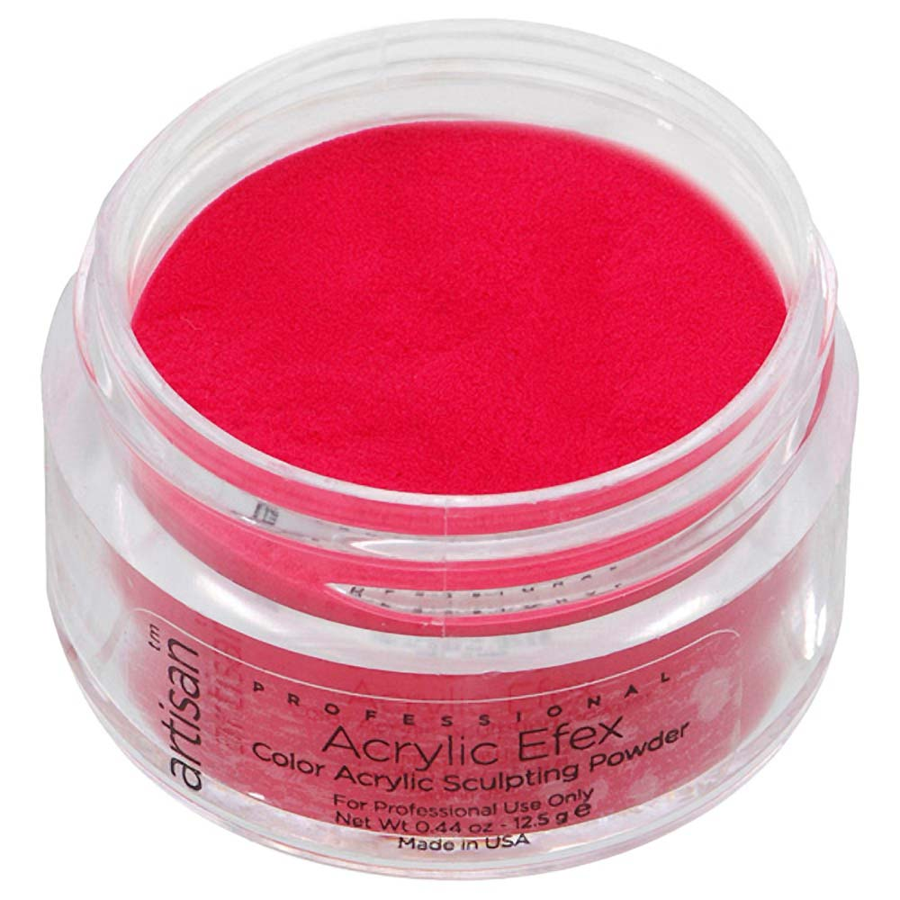 Artisan Color Acrylic Nail Powder - Crimson Red - The Nail ...