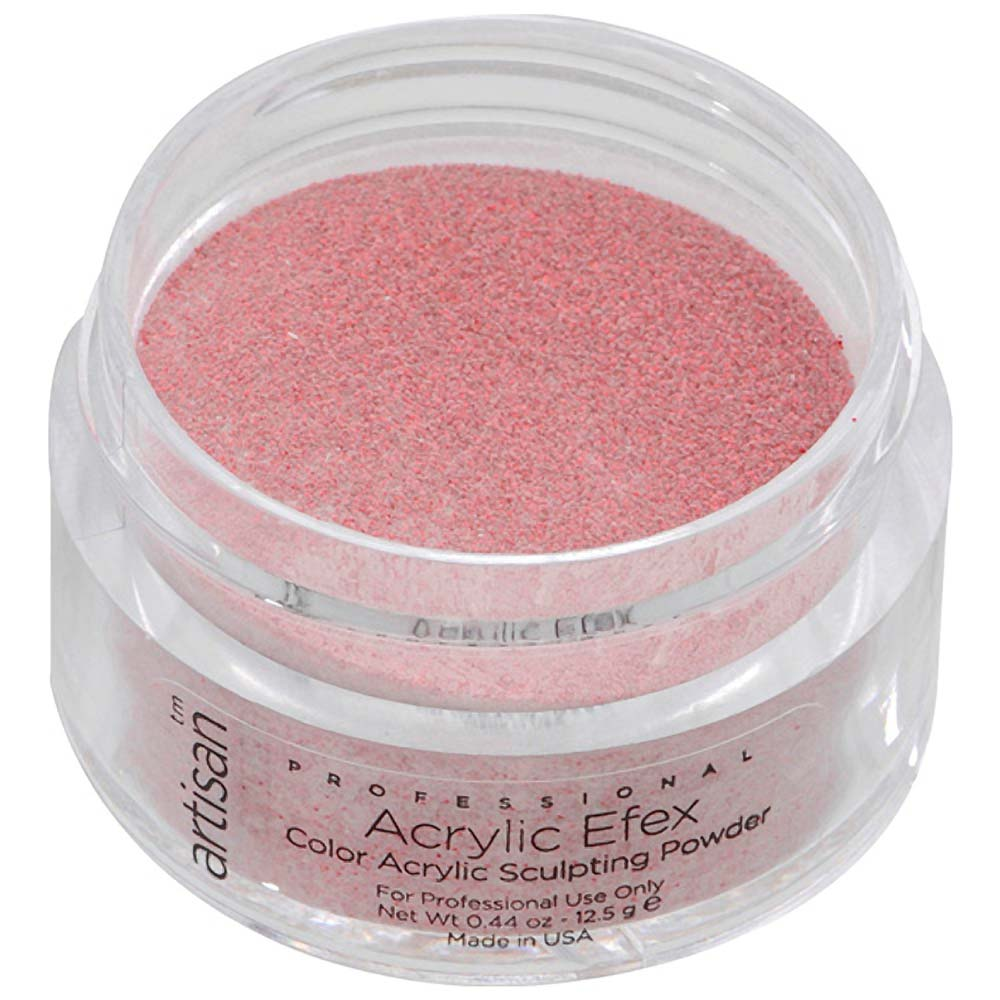 Artisan Color Acrylic Nail Powder Red Glitters