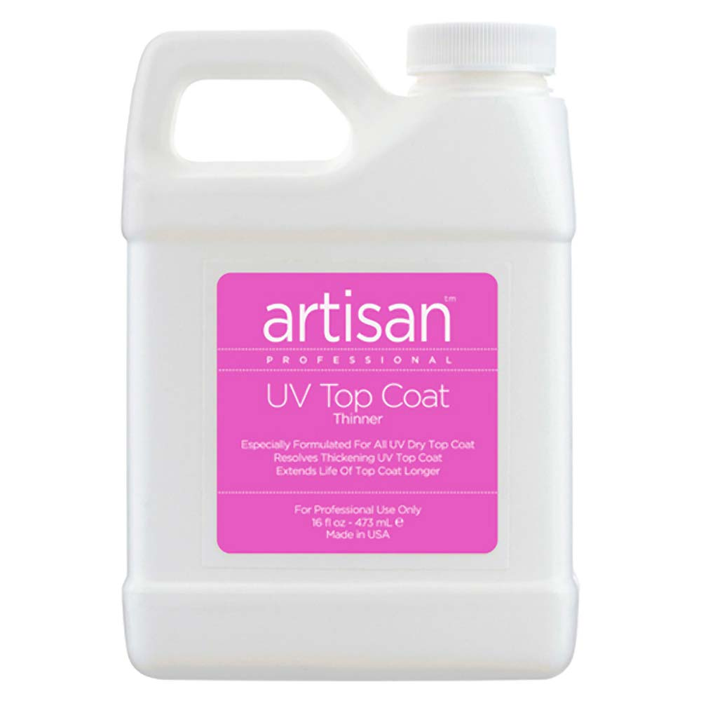 Artisan UV Nail Top Coat Thinner | Quickly Thin Out - Restore ...