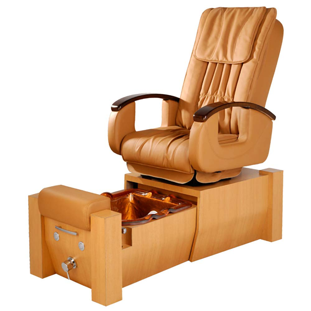 Yoto pipeless pedicure spa chair with roller massage for Wax chair salon