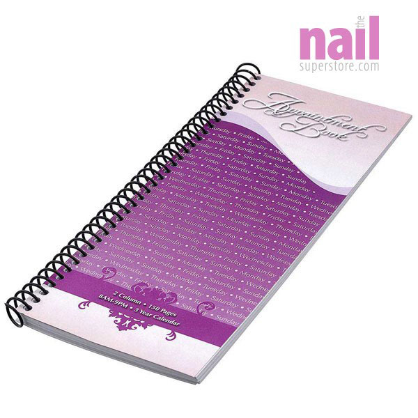 2 Column Salon Appointment Book | Keeps You Organized