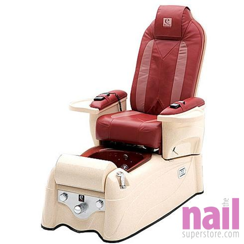 Lexor - Elite Platinum Pipeless Pedicure Foot Spa Chair with Full Back Roller Massage  sc 1 st  The Nail Superstore & Lexor - Elite Platinum Pipeless Pedicure Foot Spa Chair with Full ...