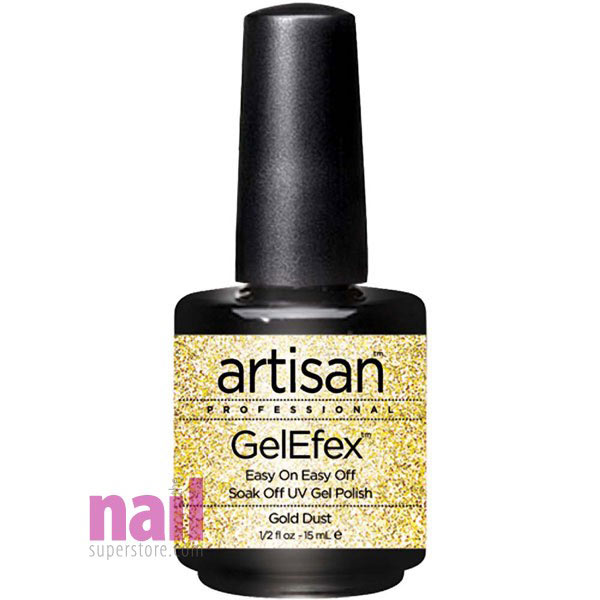 Artisan GelEfex Gel Nail Polish | Gold Dust