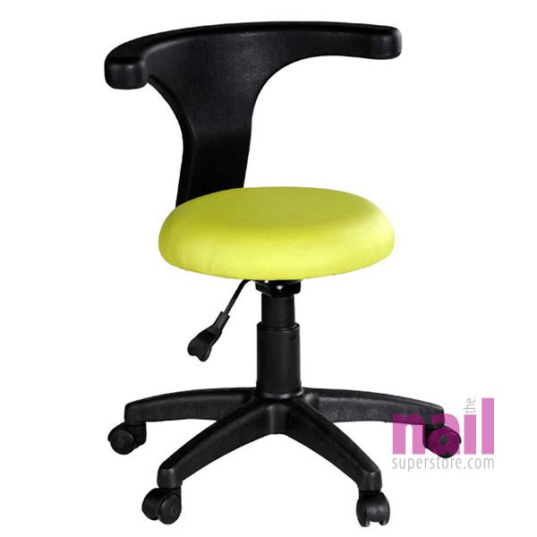 EuroStyle Pedicurist Chair with Swivel Arm Support *CLEARANCE* | Light Green