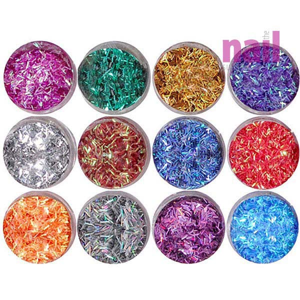 3D Nail Art Special Effects | Confetti
