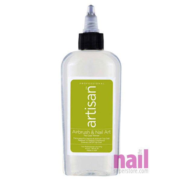 Artisan Airbrush & Nail Art Top Coat Thinner | Quickly Thin Out ...