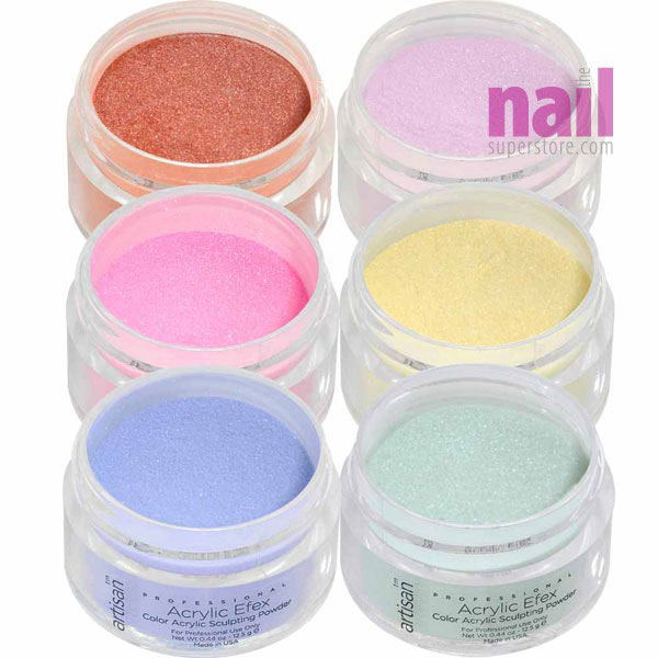 Color Acrylic Nail Powder 6 Pcs Fairytale Collection