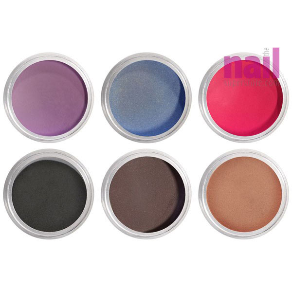 Artisan EZ Dipper Colored Acrylic Nail Dipping Powder 6 pcs | Infinite Color Collection
