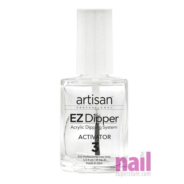 Artisan EZ Dipper Nail Activator – Step #3 | Instantly Dries Nail Dipping Resin