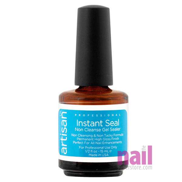 Artisan Instant Seal Gel Nail Sealer | Non Cleansing - Instant Glass Like Shine