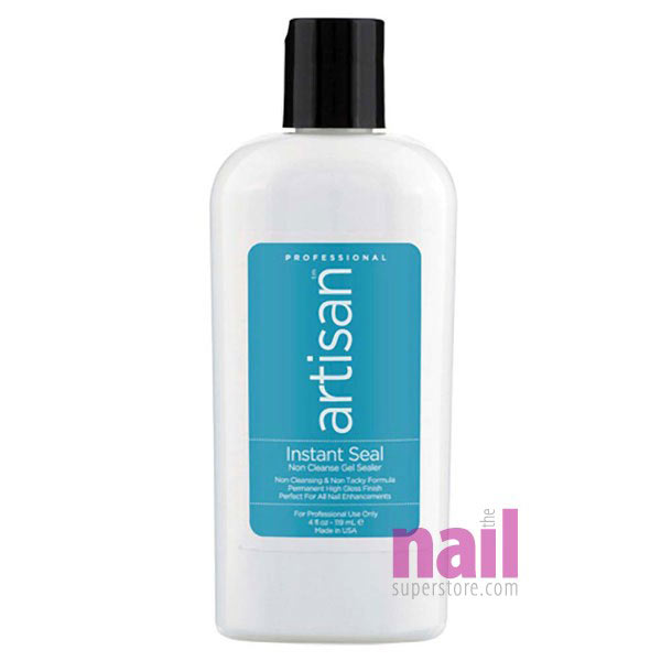 Artisan Instant Seal Gel Nail Sealer | Tacky-Free - Instant Glass Like Shine
