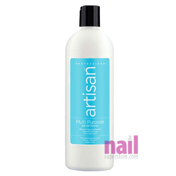 Artisan Multi Purpose Gel Nail Cleanser | Removes Residue - Leaves Shine & Clean Nails