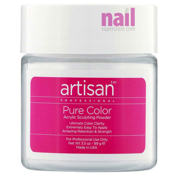 Artisan Acrylic Nail Powder | Natural Color - Easy To Control
