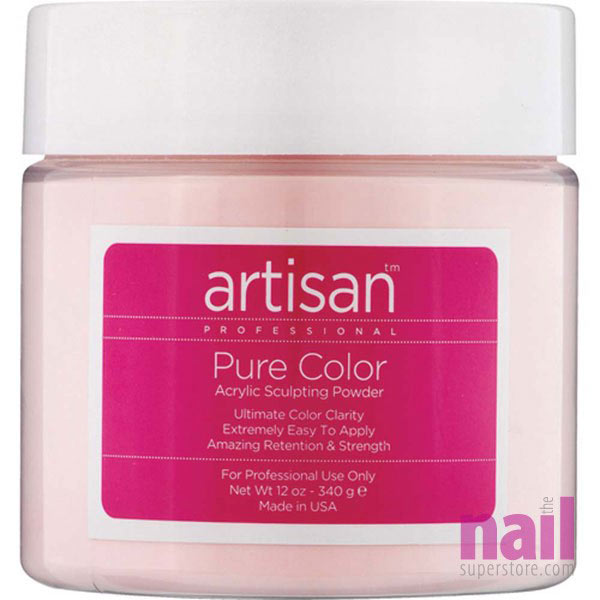 Artisan Acrylic Nail Powder | Opaque Pink - Easy To Control