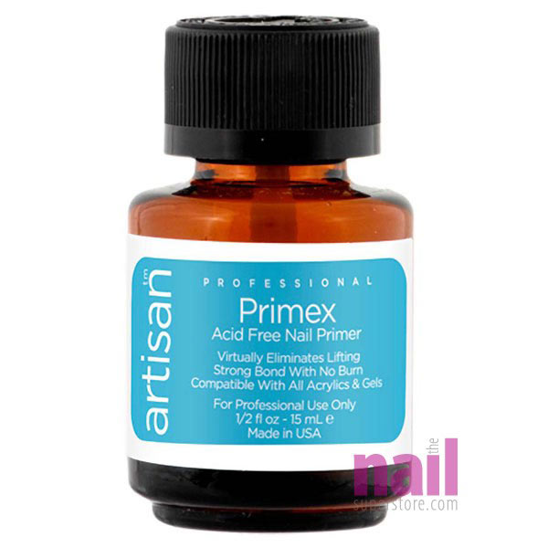Primex Acid Free Nail Primer Superior Adhesion Gentle On Skin