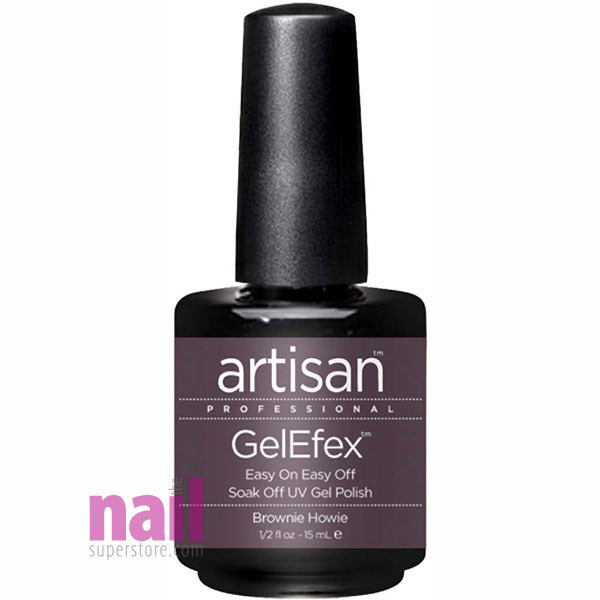 Artisan GelEfex Gel Nail Polish | Brownie Howie
