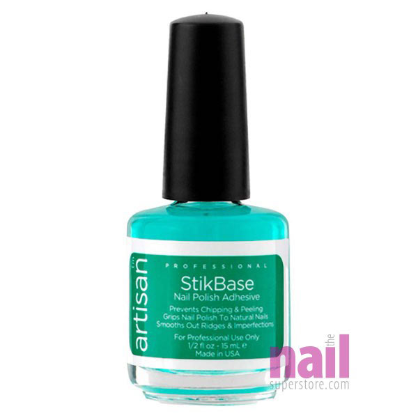 Artisan StikBase Nail Polish Adhesive | Strong Gripping Bond Between Natural Nails & Nail Polish