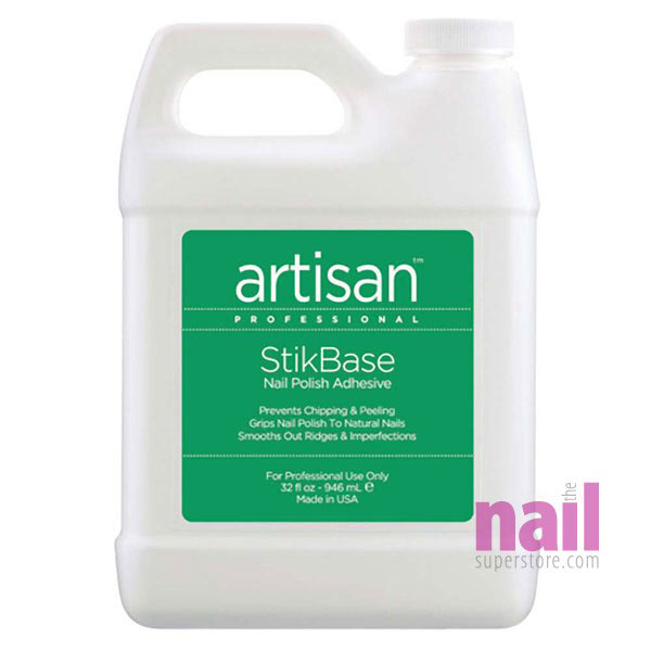 Artisan StikBase Nail Polish Adhesive | Prevents Chipping & Peeling