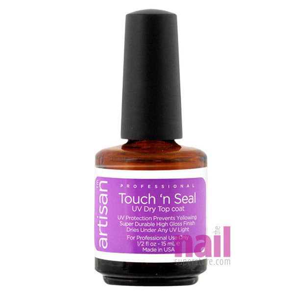 Artisan Touch N Seal  UV Dry Top Coat | Cures & Dries Quickly Under UV Light