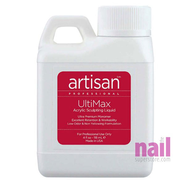 Artisan UltiMax Acrylic Nail Liquid | Low Odor - Easy Workability