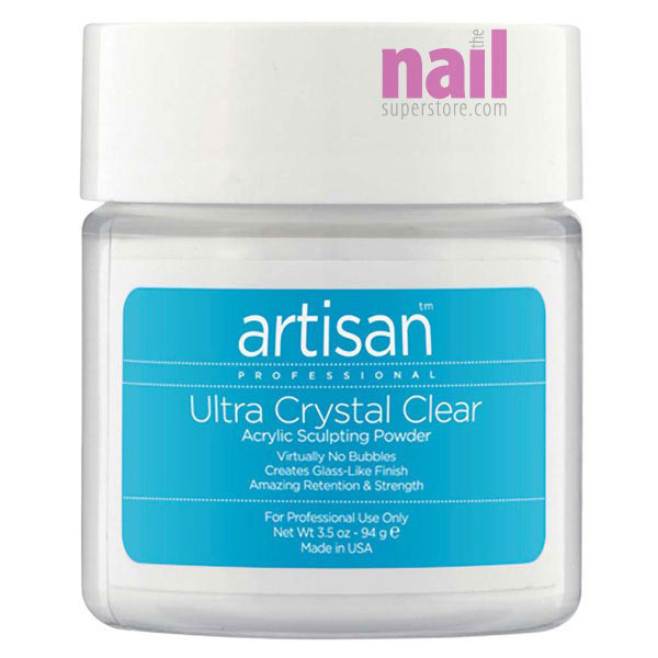 Artisan Acrylic Nail Powder | Bubble Free - Ultra Crystal Clear