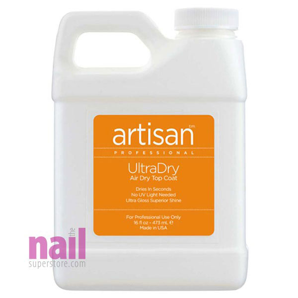 Artisan UltraDry Air Dry Top Coat | Dries Super Fast & Non Yellowing