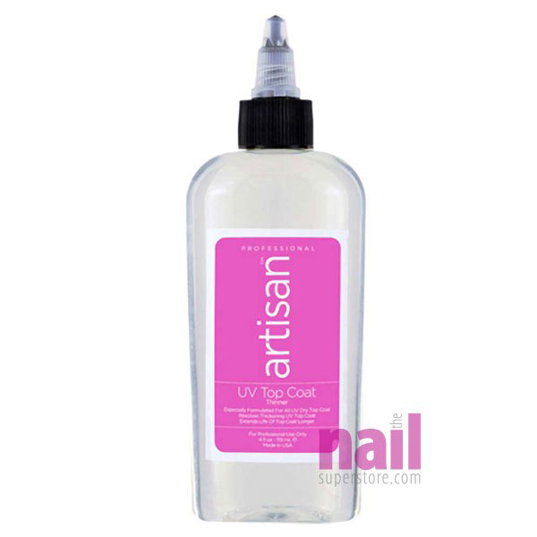 Artisan UV Nail Top Coat Thinner   Quickly Thin Out - Restore