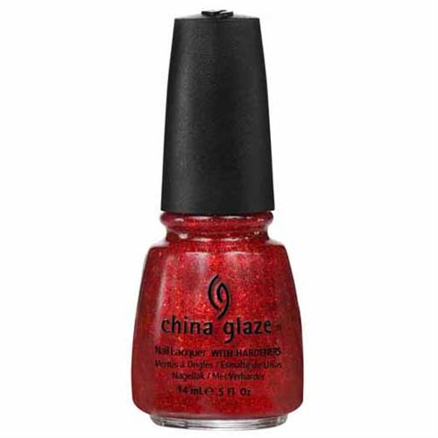 China Glaze Nail Polish - Ring in the Red