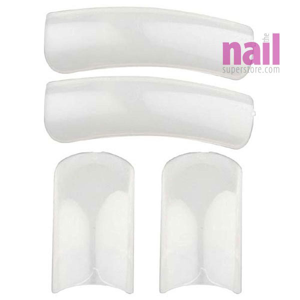 Natural Formation Nail Tips | Full Well - Thicker Tips - Size #06