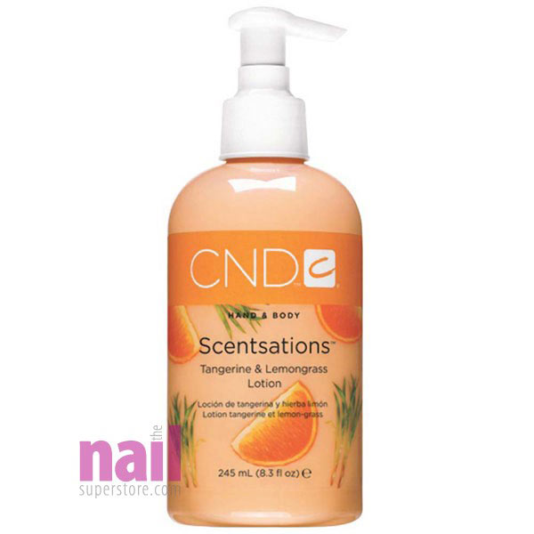 CND CreativeSpa Hand & Body Scentsations Lotion - Tangerine & Lemongrass