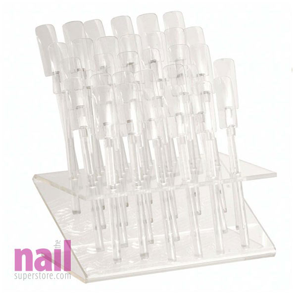 Nail Art Display Sticks | Shows True Nail Art Designs or Nail Polish Colors