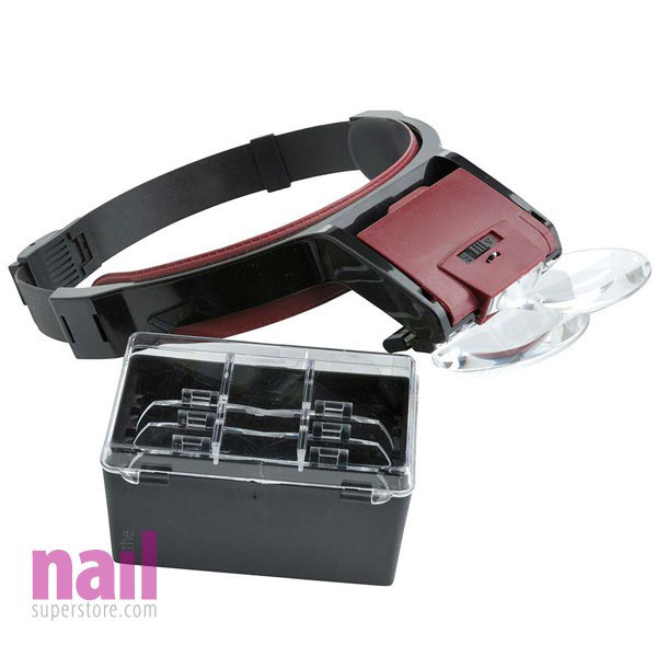 EuroStyle Nail Tech Detailing Head Lamp For Nail Art | For True Nail Artist