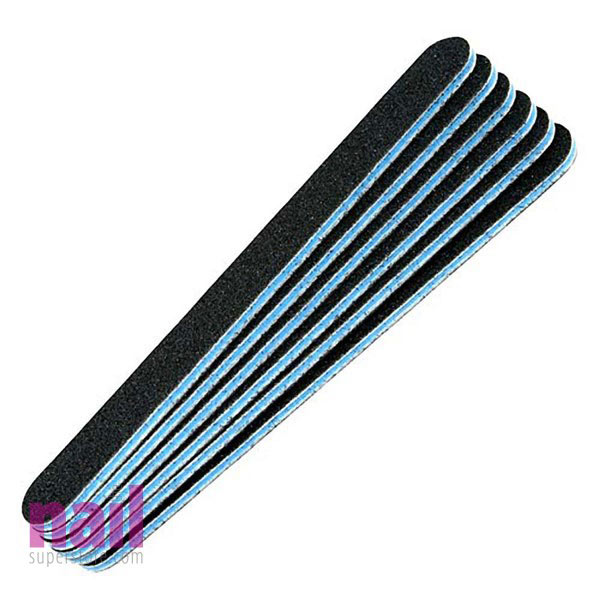 ProMaster Professional Nail File 48 ct   Blue Center - 80/80 Grit