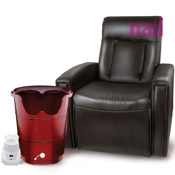 Superb Red Dragon Steam Sauna Pedicure Spa With Recliner Chair | The Ultimate Spa  Experience   Complete