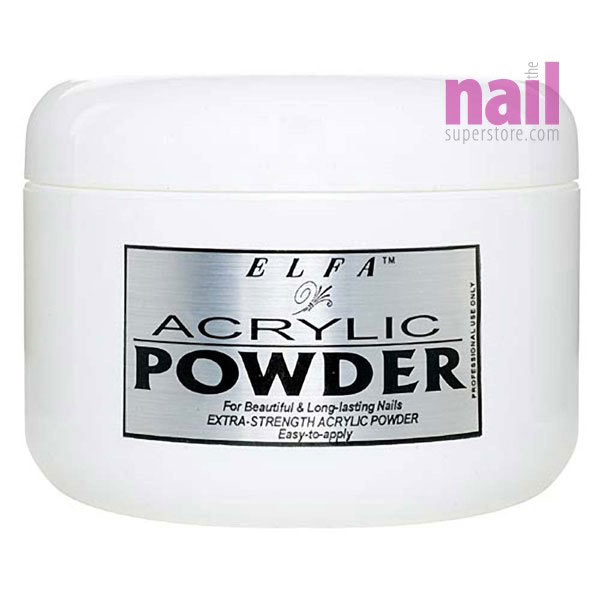 Elfa Acrylic Nail Powder | Rich Color Clarity - Intense French Pink Color