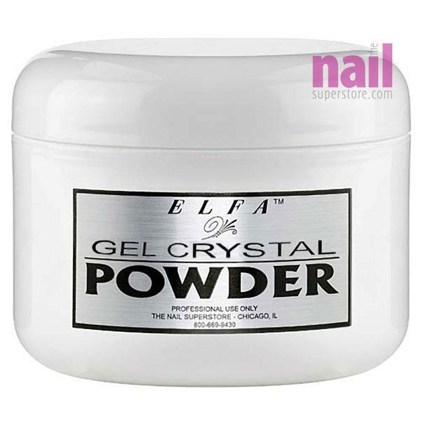 Crystal Gel Nail Powder | Flawless High Clarity - The Nail Superstore