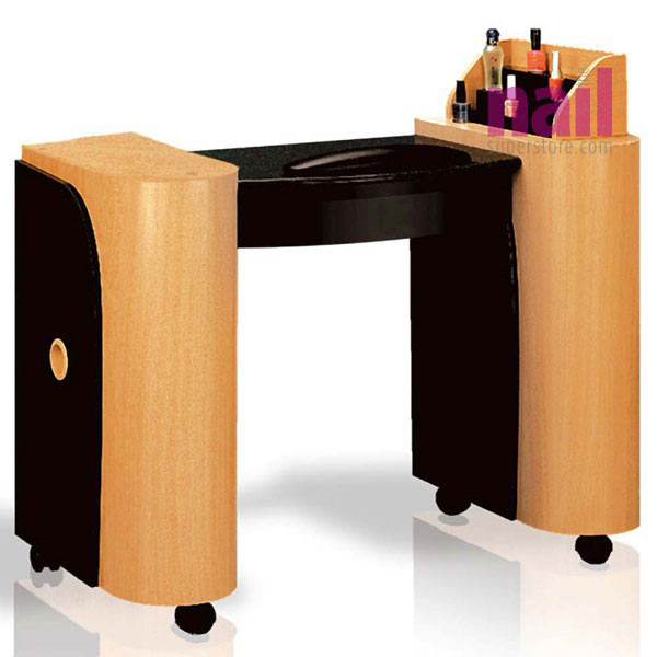 EuroStyle LC Manicure Nail Table | Model #LC-202 - The Nail Superstore
