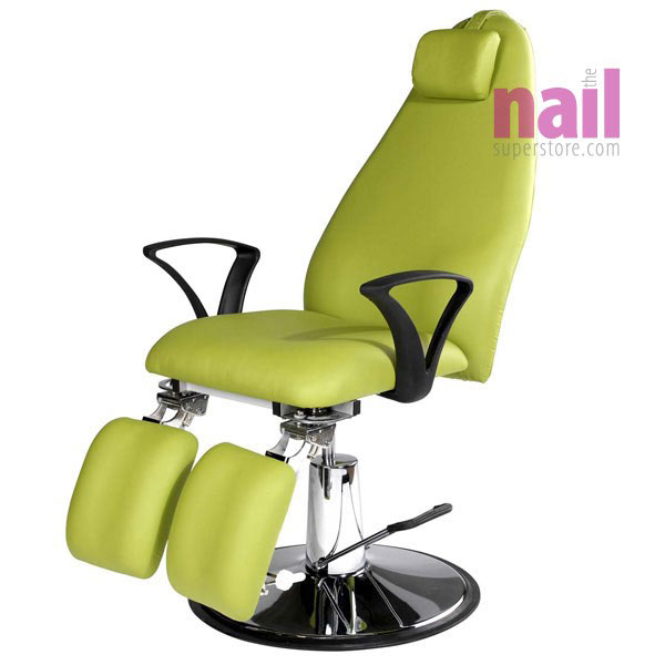 EuroStyle Green Beauty Chair with Hydraulic Lift | Multi-Function - Multi-Purpose