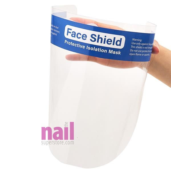 Reusable Face Shield | Clear Vision + Full Face Protection