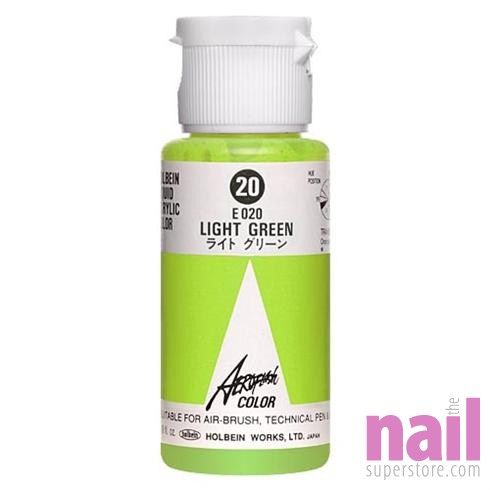 download this Holbein Airbrush Paint Light Green The Nail picture