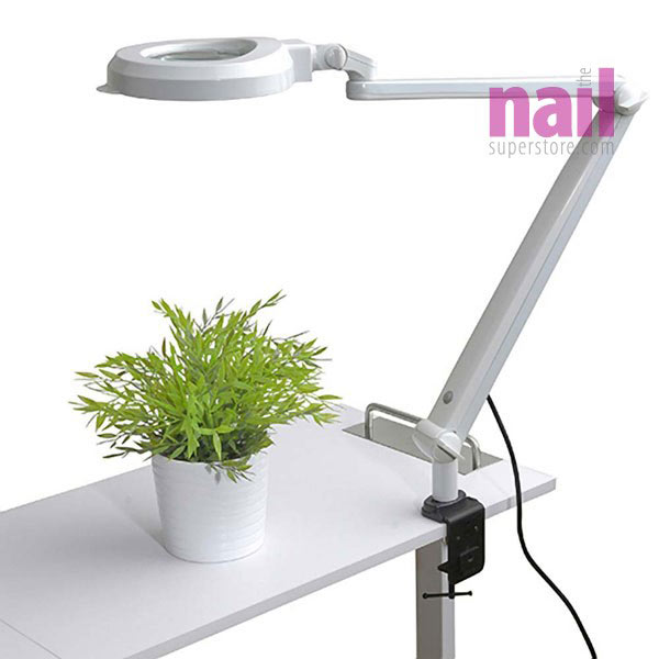 EuroStyle Manicure Table Lamp | Magnifying LED Light - Lasts Up to ...