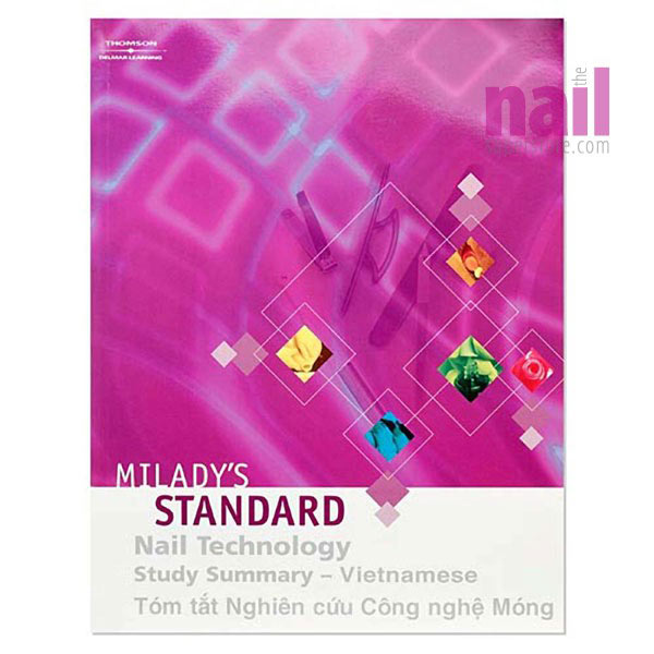 Vietnamese Translated Milady Standard Nail Technology Study Summary Book A Student Must Have